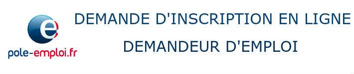 Inscription En Ligne Des Demandeurs D Emploi Candidat Pole