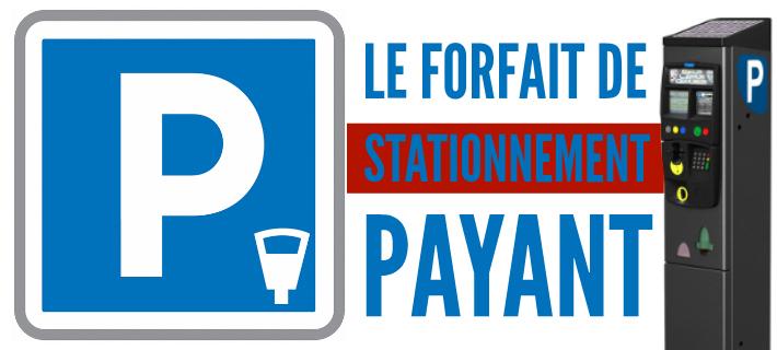 Le Forfait Post Stationnement remplace PV et amende