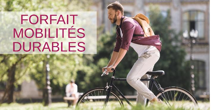 Prime forfait mobilités durables vélo covoiturage 400€