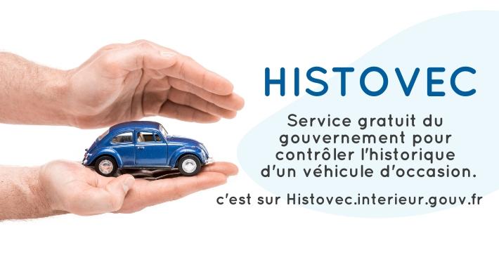 Histovec.interieur.gouv.fr - Vérifier historique véhicule occasion