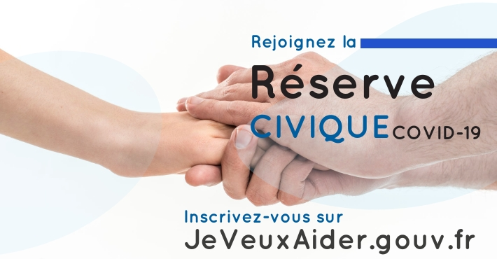 JeveuxAider.gouv.fr Je veux aider La Reserve Civique COVID 19