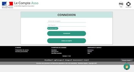 lecompteasso.associations.gouv.fr/login remboursement club pass sport