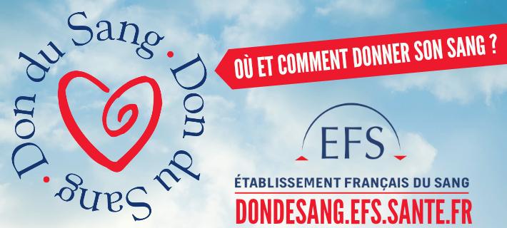 Don du sang où donner et comment faire - Dondesang.efs.sante.fr