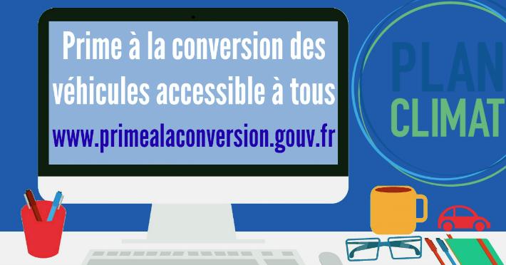 www.primealaconversion.gouv.fr - Prime à la conversion des véhicules combien