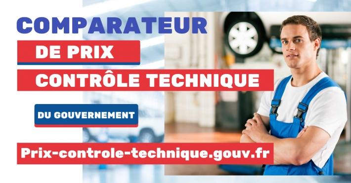 Prix-controle-technique.gouv.fr - Comparateur du Gouvernement