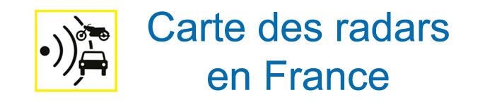 radars.securite-routiere.gouv.fr - Carte des radars en France