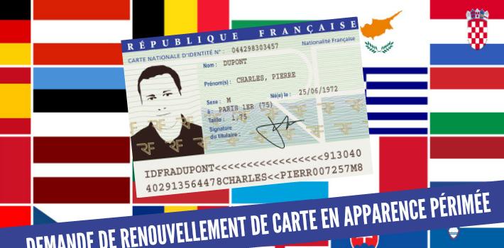 refaire une carte d identité périmée Comment faire un renouvellement anticipé de carte identité en