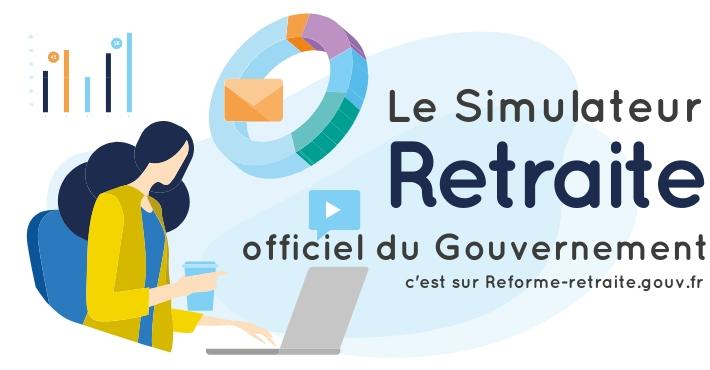 Reforme-retraite.gouv.fr simulateur officiel en ligne