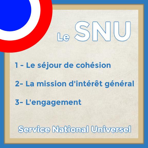 Contenu du SNU obligatoire