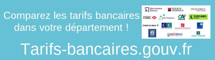 www.tarifs-bancaires.gouv.fr - Comparateur public gratuit des tarifs bancaires