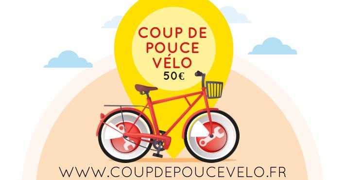www.coupdepoucevelo.fr - Aide coup de pouce vélo 50 euros